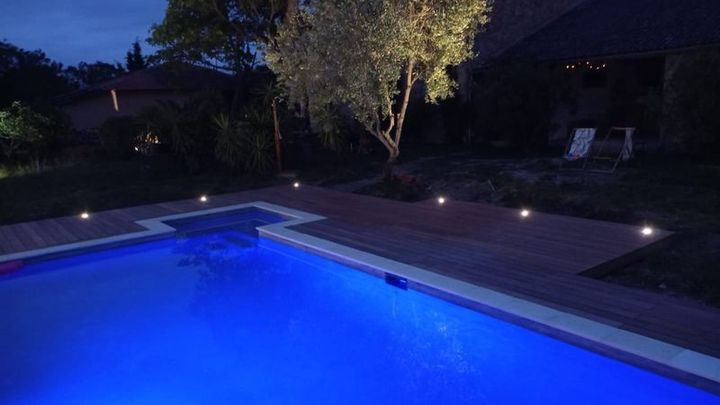 GIROUSSENS rénovation de piscine